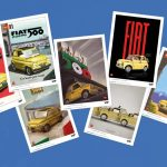 Fiat 500 LEGO VIP art