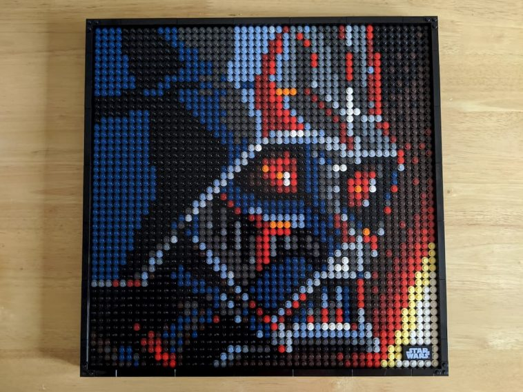 Lego The Sith 31200 Star Wars Mosaic Sculptures Set