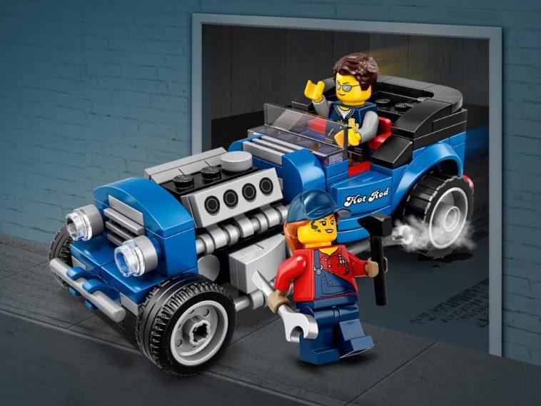 LEGO Hot Rod Blue Fury