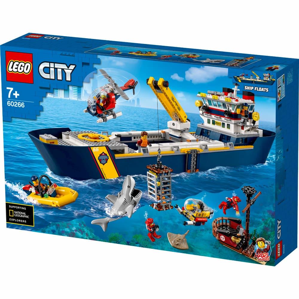 LEGO City 60266 Ocean Exploration Ship Review - That Brick ...