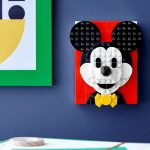 Brick Sketches Mickey Mouse