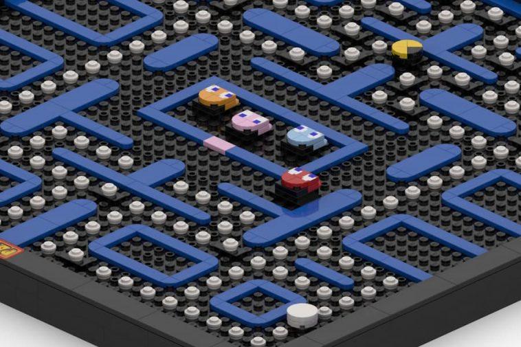 LEGO Ideas Pac-Man Wall Art