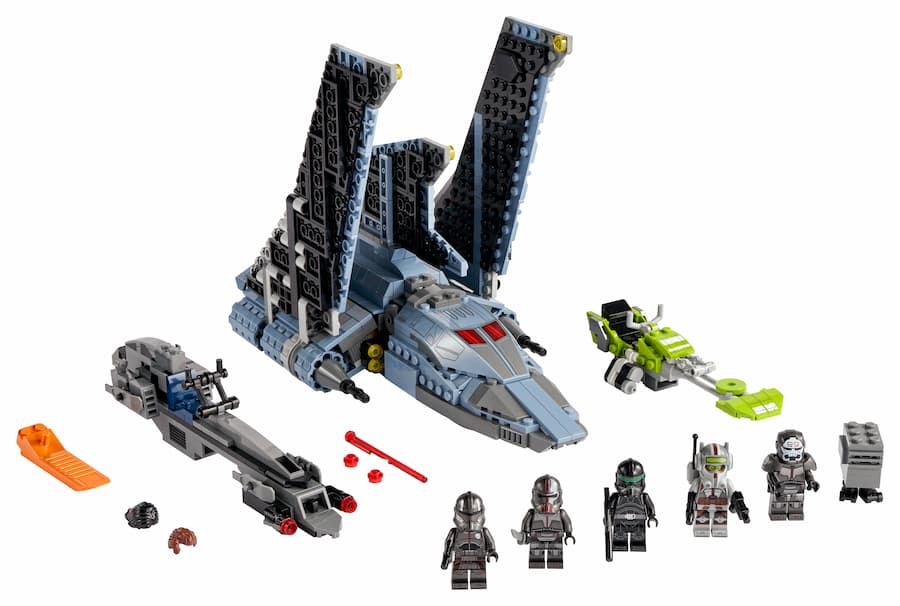LEGO 75314 Star Wars The Bad Batch Attack Shuttle