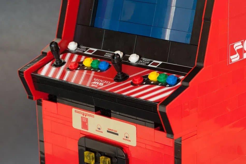 LEGO Ideas Arcade Cabinet