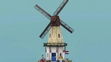 LEGO Ideas Dutch Windmill