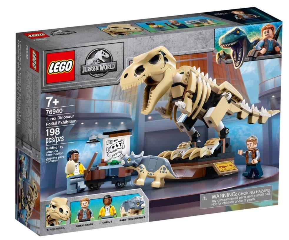 LEGO Jurassic World 76940 T. Rex Dinosaur Fossil Exhibition