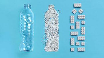 LEGO plastic bottle