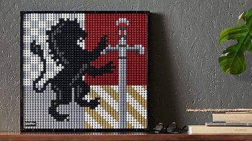 LEGO Art 31201 Harry Potter Hogwarts Crest