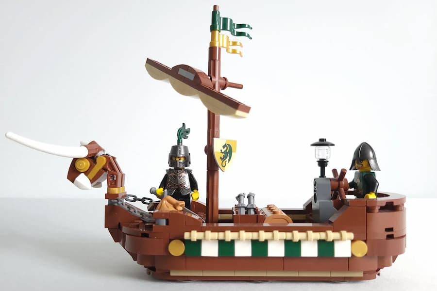LEGO Ideas Dragon Knight's Harbour