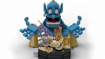 LEGO Ideas Spotlight Aladdin Friend Like Me