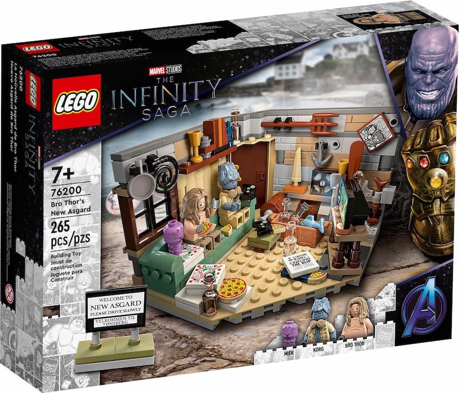 LEGO Marvel 76200 Bro Thor's New Asgard