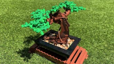 LEGO 10298 Bonsai Tree review