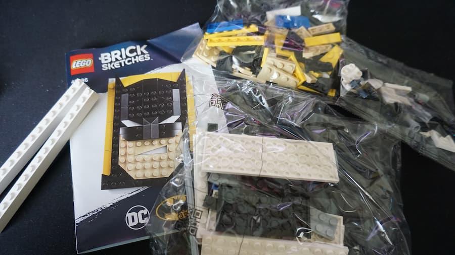 LEGO Brick Sketches 40386 Batman review
