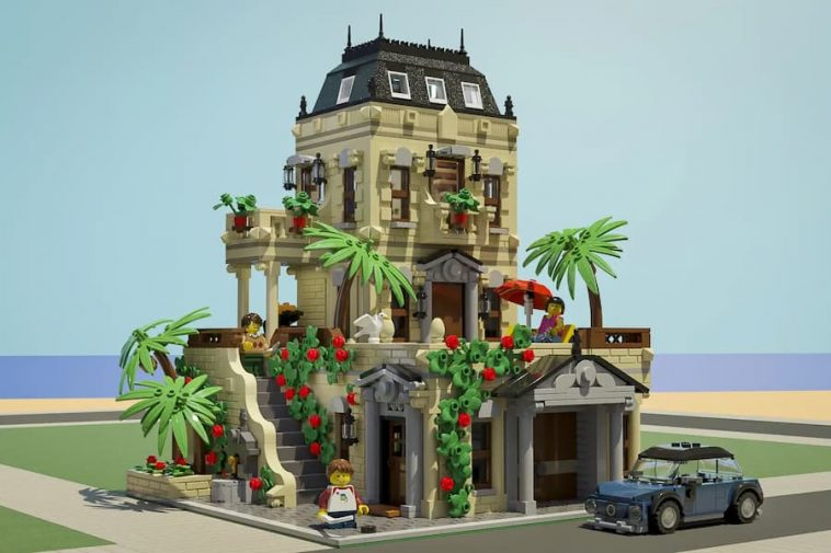 LEGO Ideas Mediterranean Villa