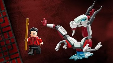 LEGO Marvel Shang-Chi and the Great Protector Free Gift