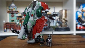 LEGO Star Wars 75312 Boba Fett's Starship review