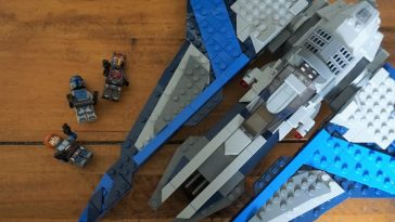 LEGO Star Wars 75316 Mandalorian Starfighter review