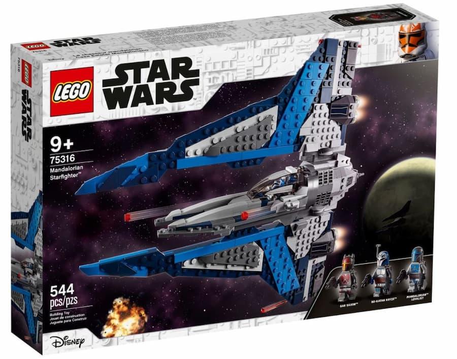 LEGO Star Wars 75316 Mandalorian Starfighter box art