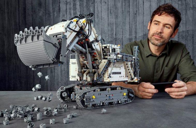 LEGO Technic 42100 Technic Liebherr R 9800 Excavator