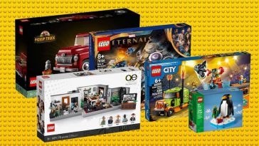 LEGO sets October 1st